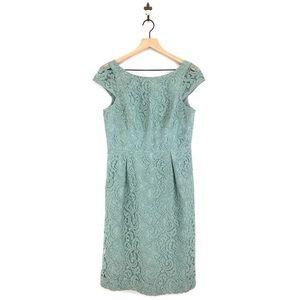 J.crew Elsa Sheath Dress Leavers Lace Size 6